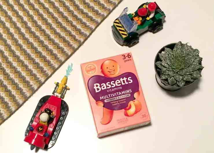 Bassetts Vitamins Autumn Winter Children