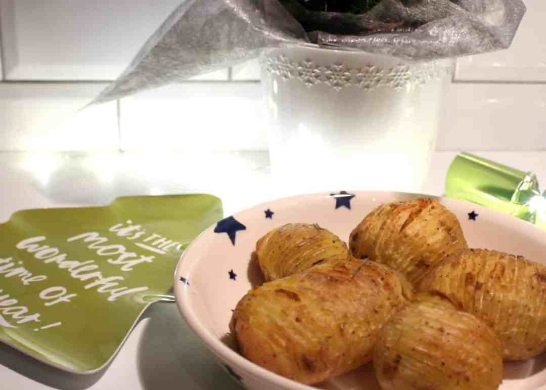 Roasted Hasselback Potatoes