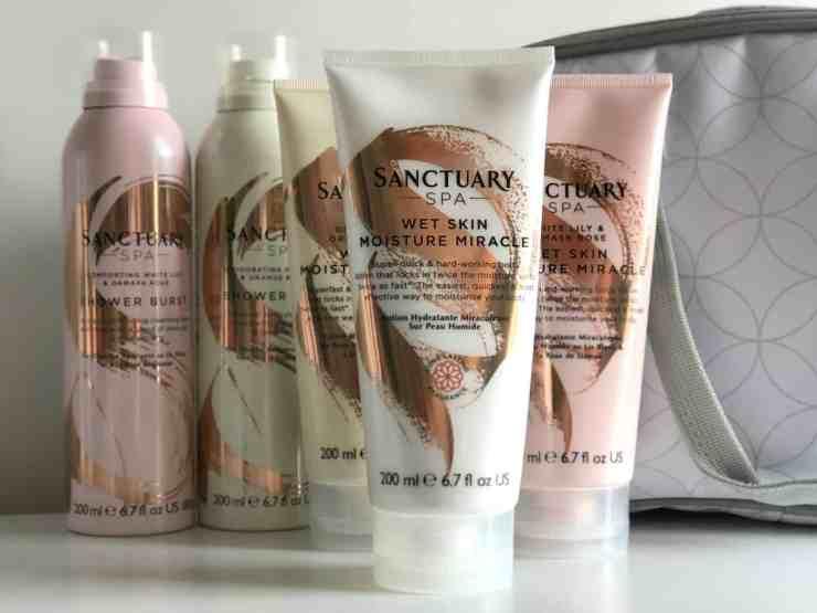 Sanctuary Wet Skin Moisture Miracle and Shower Burst