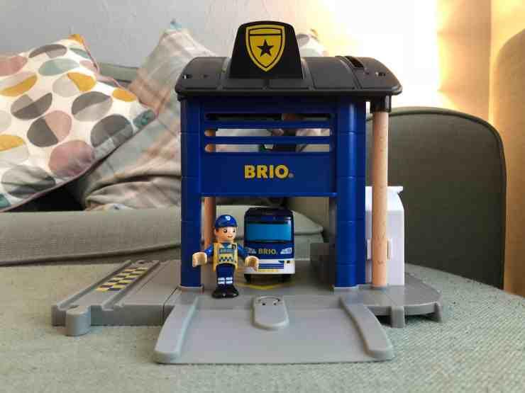 BRIO Police Station Set