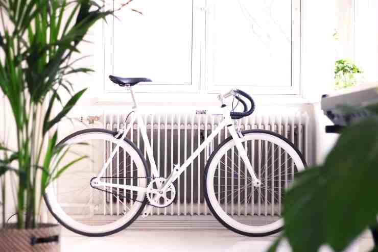Radiators Bike Hallway