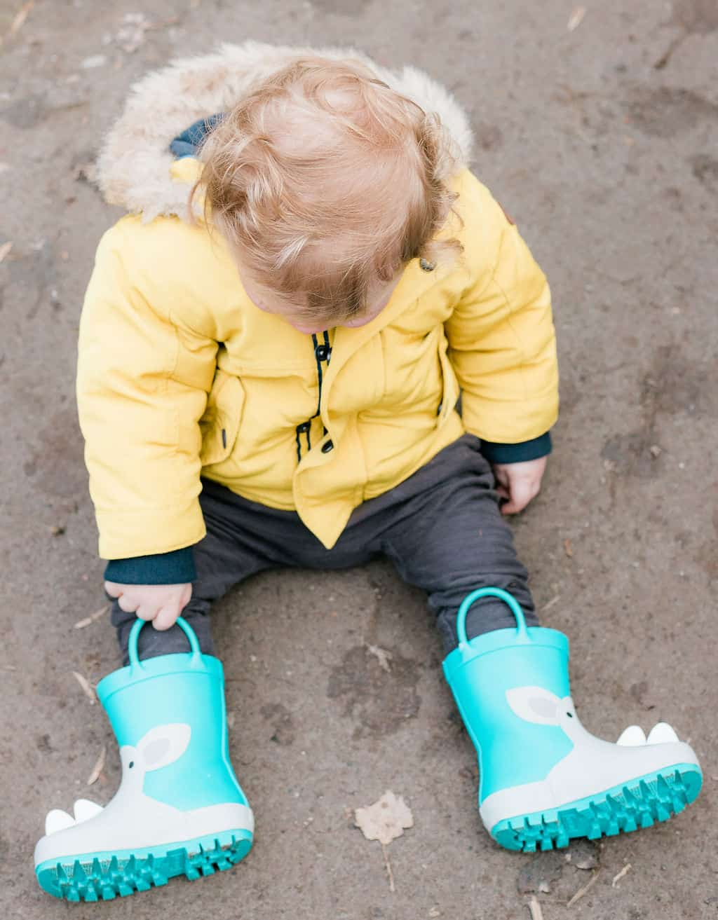 Toddler Boy Wellington Boots