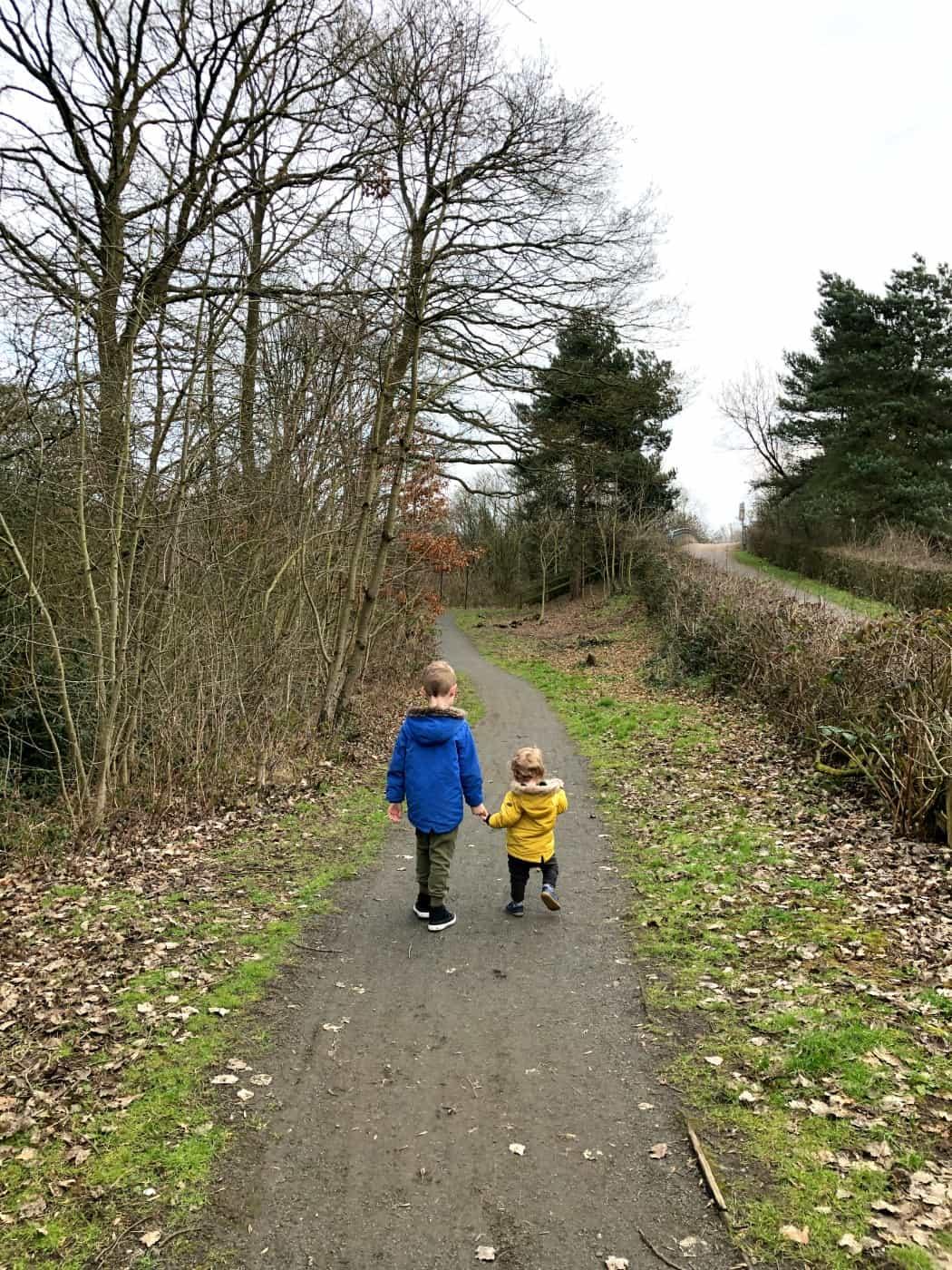 Olly and Freddie February 2019