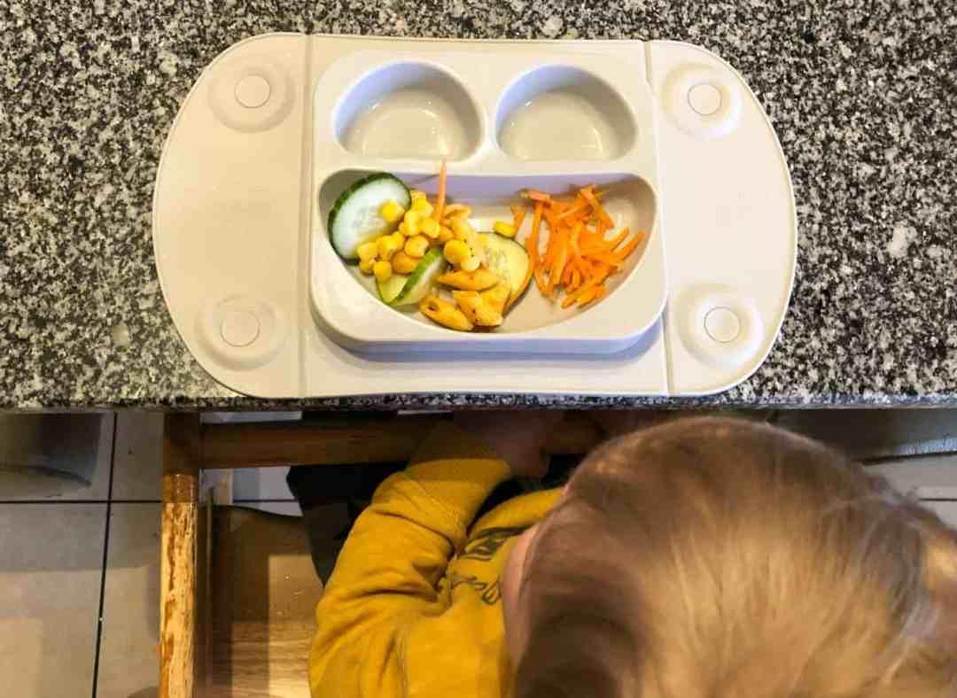 EasyMat suction plate restaurant child