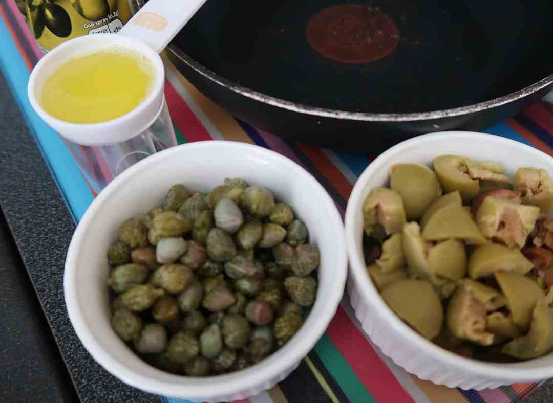 Crispy Capers and Olives