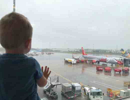 Flying with a toddler Jet2