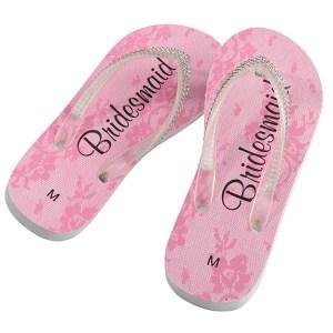 d10a511c61d4 Bridesmaid Flip Flops ...