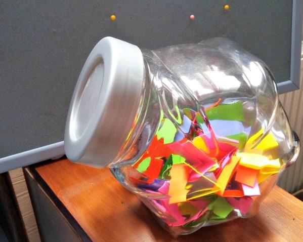 self care jar