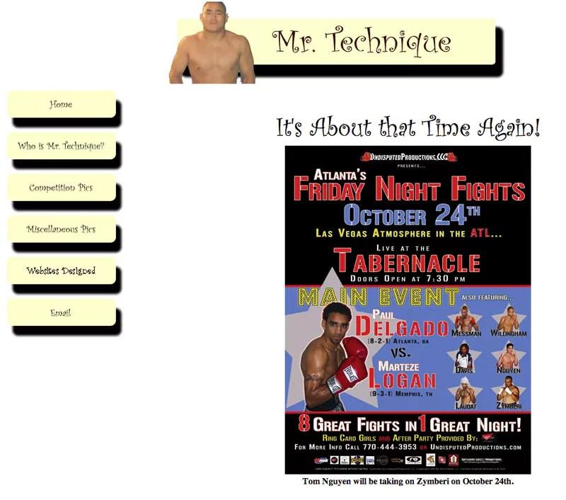 Mr. Technique<sup data-recalc-dims=