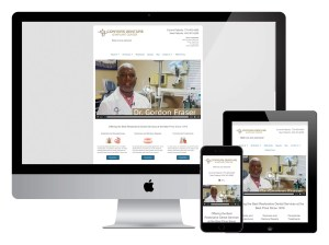 Conyers Denture & Implant Center Responsive Web Design