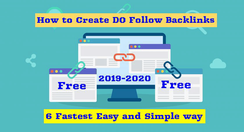 DoFollow backlinks  : 6 Best free ways to create in 2019 (Fastest Grow)