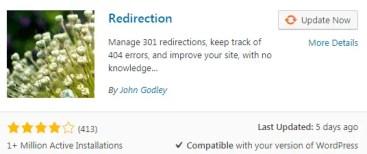 Redirection Best free wordpress plugins