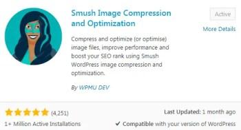 Smush Best free WordPress Plugin