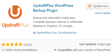 UpDraft WordPress Best Plugins