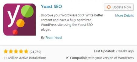 Yoast Seo Best WordPress Plugins
