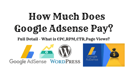 How much does Google Adsense pay?