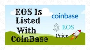 EOS Listed Coinbase