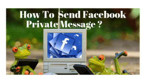 How to send private message on Facebook
