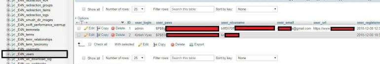 how to change password in wordpress
