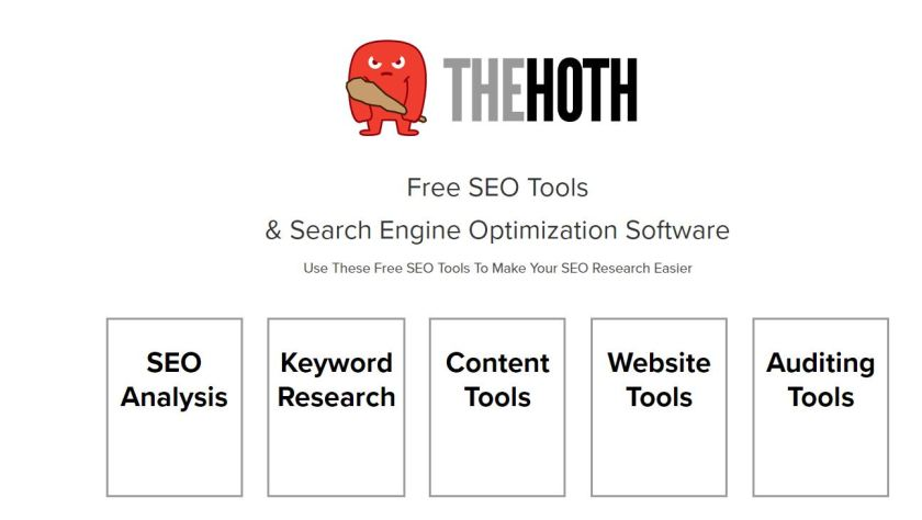 THe hoth keyowrd research tool