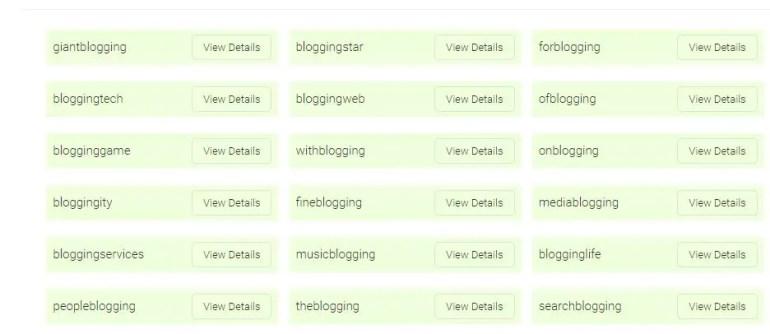 Blog name generator tools