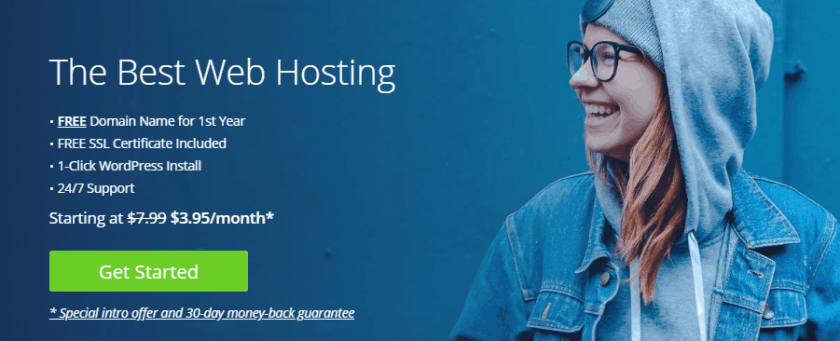 Bluehost login to purchase shared hosting plus plan
