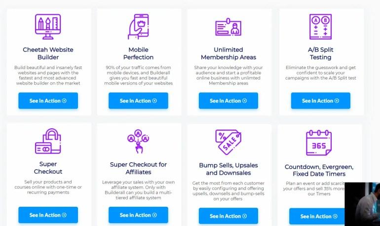 Builderall Website builder