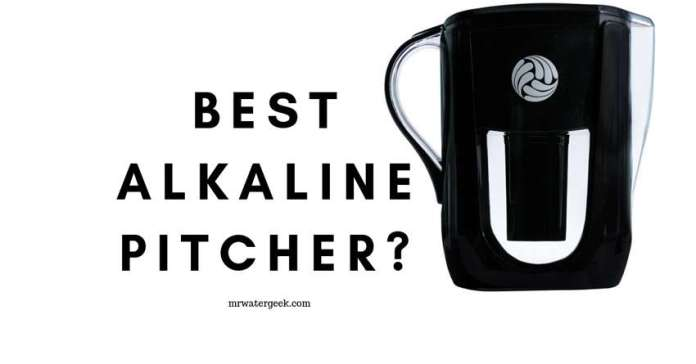 The Best Alkaline Water Filter Pitcher? Here is the TRUTH.