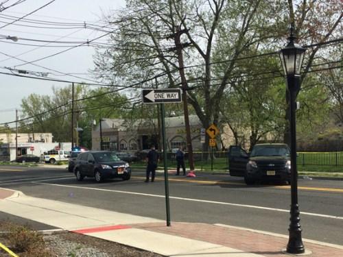 Pedestrian hit 4/29/17.