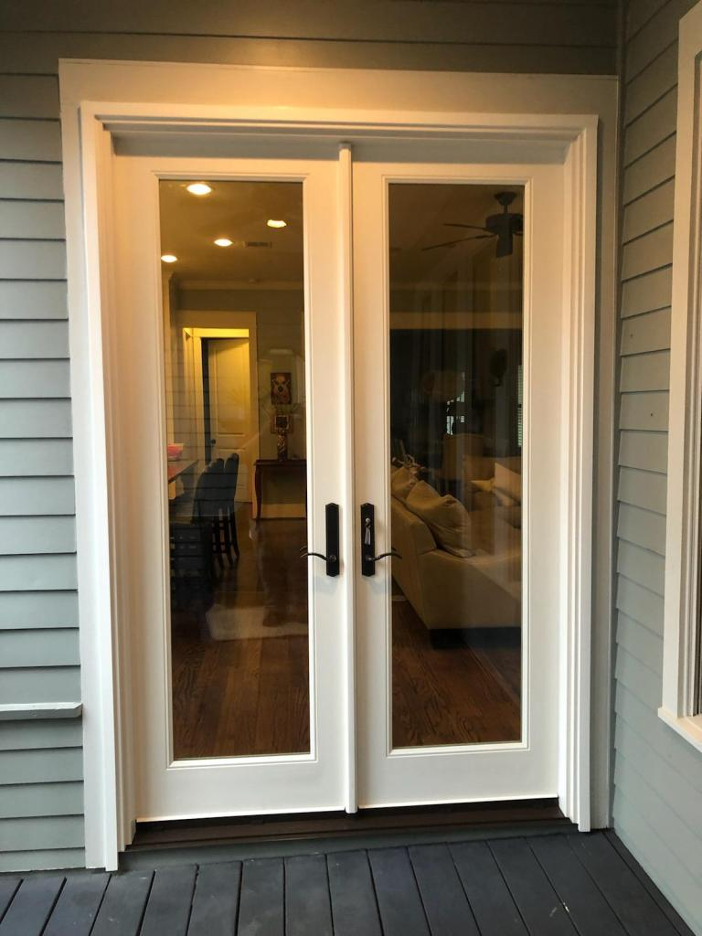 fiberglass composite patio door