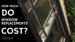 how much do window replacement cost in Houston