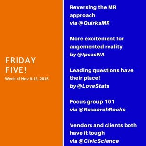 Friday Five! (2)
