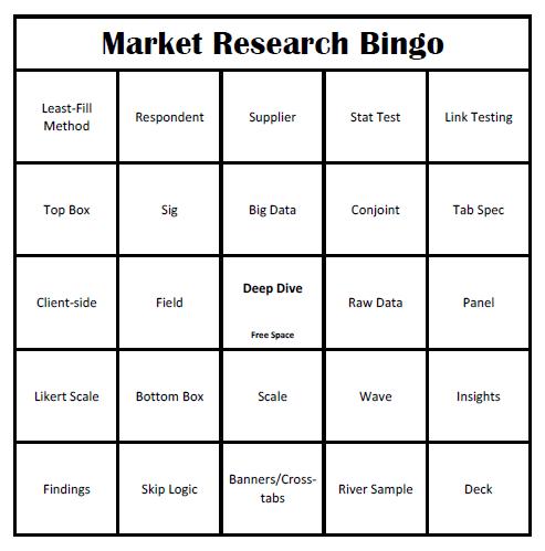Bingo, anyone?