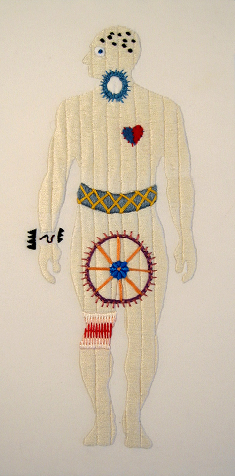 Ben Conrad Worries Embroidery