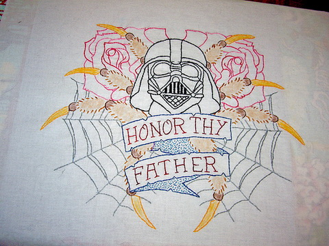 Craftster Pick of the Week – Honor Thy Father