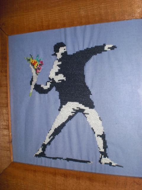 banksy stitch