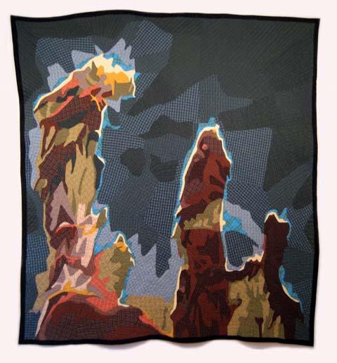 Jimmy McBride - Quilt Pillars of Creation