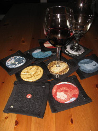 Craftster Pick of the Week – Planet Coasters from Harmless Eccentric