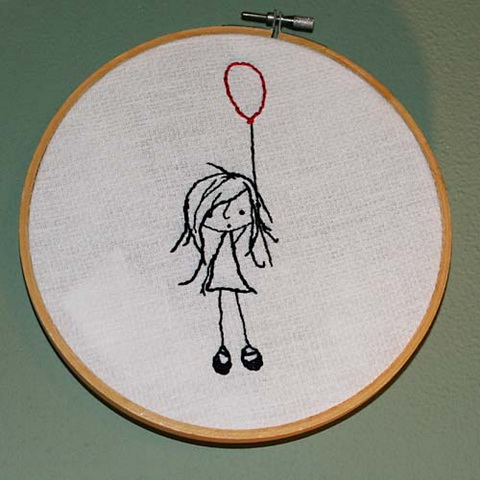 Craftster Pick of the Week – Tattoo Inspired Embroidery from Pugwash