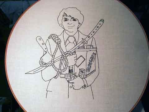Harold and Maude Hand Embroidery by Marleymiss