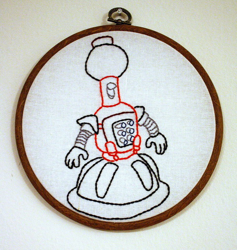 Craftster Pick of the Week – Rachel McKay's MST3K Hand Embroideries!