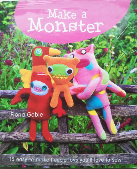 Book Review – Make a Monster by Fiona Goble – Win a copy!