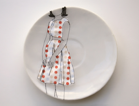 Diem Chau - Embroidered Porcelain