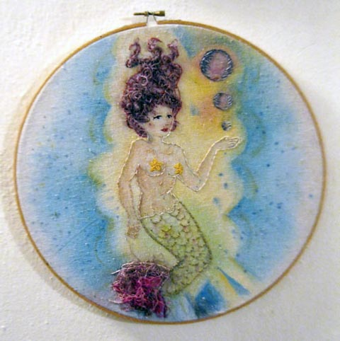 Craftster Pick of the Week – Mermaid Painting by Shannon Young