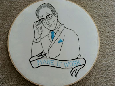 Craftster Pick of the Week – Tim Gunn Hand Embroidery