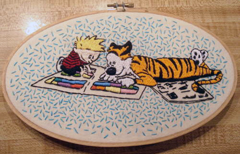 Craftster Pick of the Week – Calvin and Hobbes