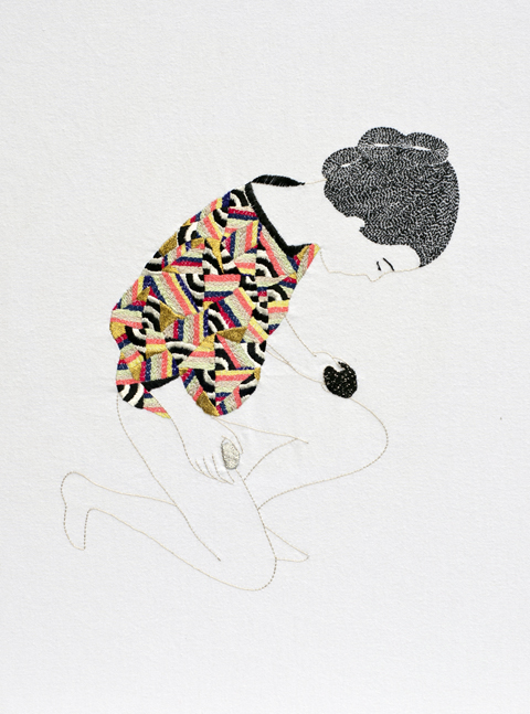 Hand embroidery from Jazmin Berakha