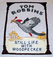 Craftster Pick of the Week – Tom Robbins Embroidery