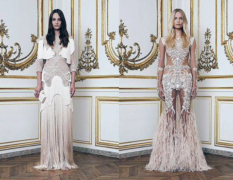 Givenchy Beading And Lacework