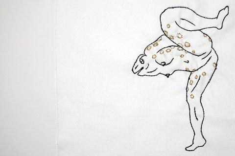 Spike Dennis - Beast Embroidery